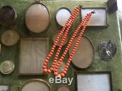 Natural Undyed Genuine Salmon Coral Beaded Necklace 1420.7g